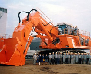 Hitachi Grävmaskin Import